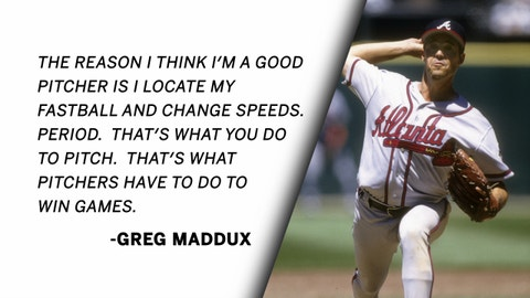 Greg Maddux | The Art of Pitching