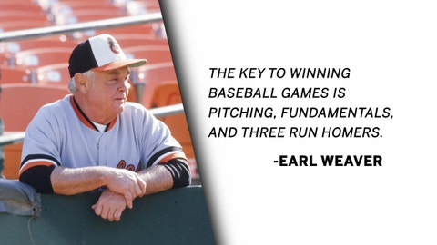 Earl Weaver | The Art of Pitching