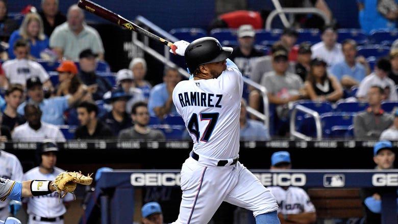 Harold Ramirez hits 3-run blast, Marlins fall 5-4 in series finale to Pirates