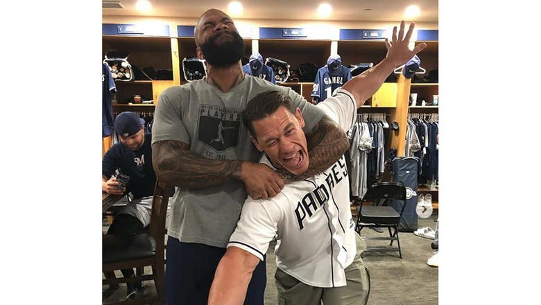 Top Tweets: Eric Thames vs. John Cena is awesome