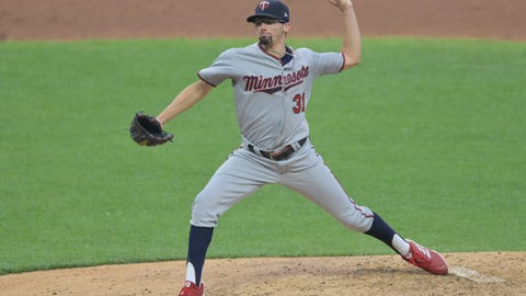 Devin Smeltzer, Twins pitcher (↓ DOWN)