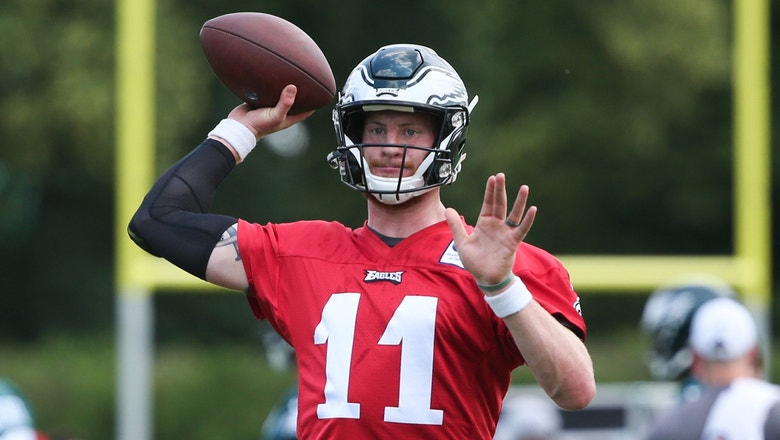 Colin Cowherd explains why Carson Wentz's new contract is 'very, very smart' on multiple levels for the Eagles