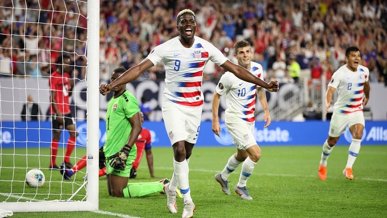 Gyasi Zardes nets 2 goals against Trinidad and Tobago | 2019 CONCACAF Gold Cup