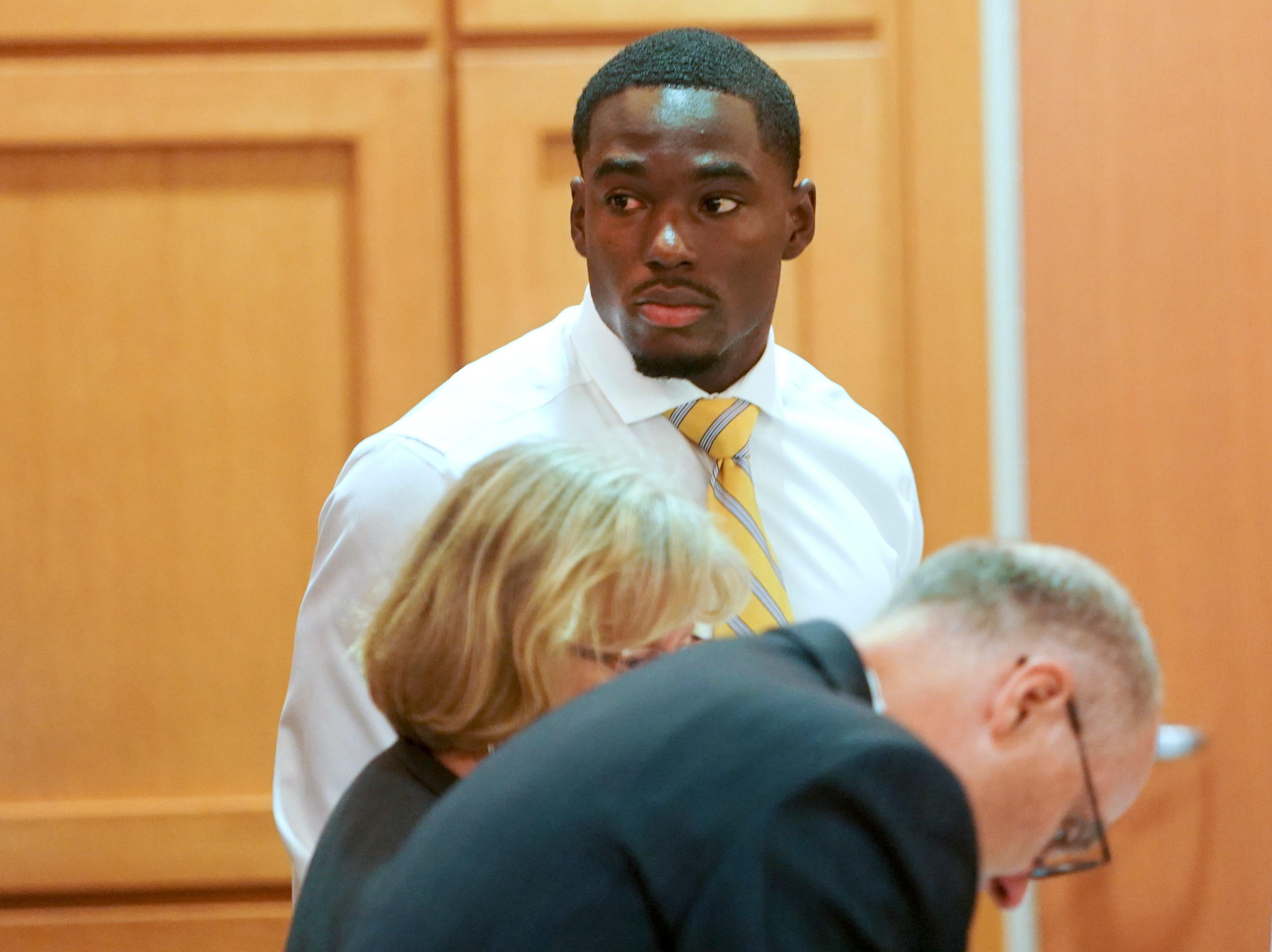 Former Wisconsin Badgers receiver Quintez Cephus acquitted