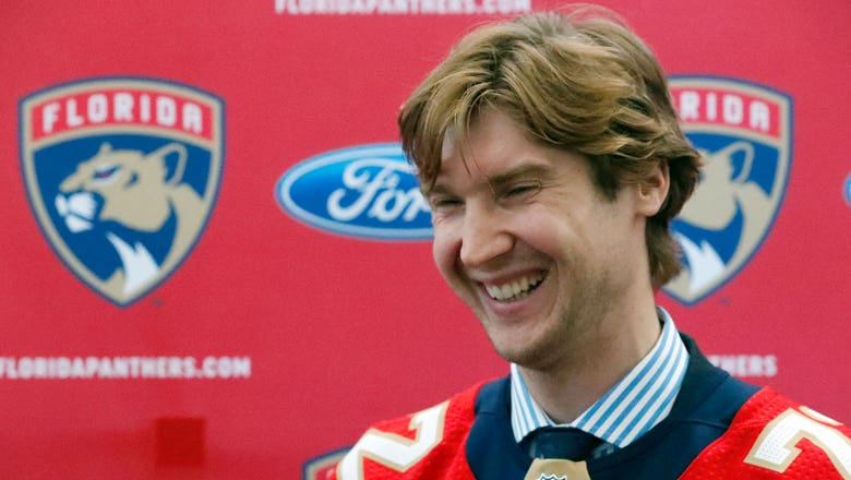 On A Mission: Panthers G Sergei Bobrovsky came to Florida to win Stanley Cup