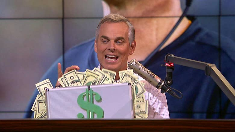 Colin Cowherd gives his CFB over/under locks for the 2019 season