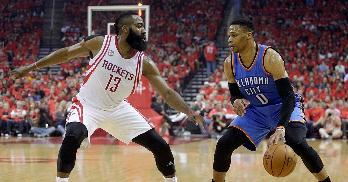 Cris Carter discusses the compromise needed for Westbrook and Harden's success in Houston