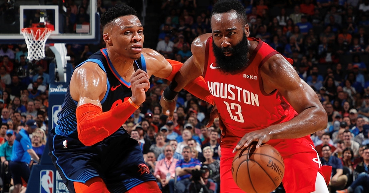 Shannon Sharpe thinks 'ball dominance' is the reason why Harden and Westbrook won't win a title for the Rockets