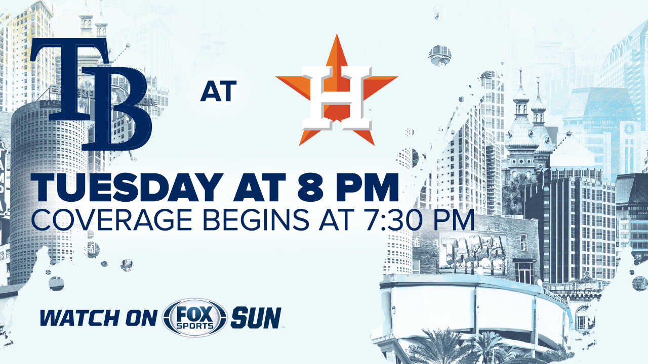 Tampa Bay Rays at Houston Astros game preview