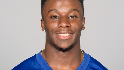 <p>               This May 2019 photo shows Corey Ballentine of the New York Giants NFL football team. An 18-year-old Kansas man has been charged in the April attack that wounded Ballentine and killed one of his Washburn University teammates, Dwane Simmons. Francisco Alejandro Mendez was charged Friday with first-degree murder, attempted first-degree murder and five counts of aggravated battery in the April 28 attack, the Shawnee County district attorney's office said in a news release. (AP Photo)             </p>