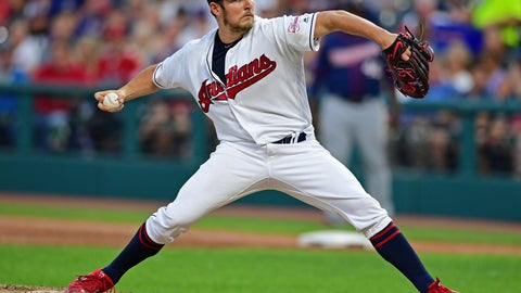 <p>               FILE - In this July 13, 2019, file photo, Cleveland Indians starting pitcher Trevor Bauer delivers in the sixth inning of a baseball game against the Minnesota Twins, in Cleveland. The Indians bulked up for the playoff race by trading temperamental starter Trevor Bauer before the deadline to Cincinnati in a three-team deal they hope can help them run down the Minnesota Twins. Cleveland, which trails the AL Central by three games but leads the wild-card race, sent Bauer to the Reds for slugger Yasiel Puig and left-hander Scott Moss. The Indians also acquired outfielder Franmil Reyes, lefty Logan Allen and infield prospect Victor Nova from the San Diego Padres, who acquired outfielder Taylor Trammel from the Reds. (AP Photo/David Dermer, File)             </p>