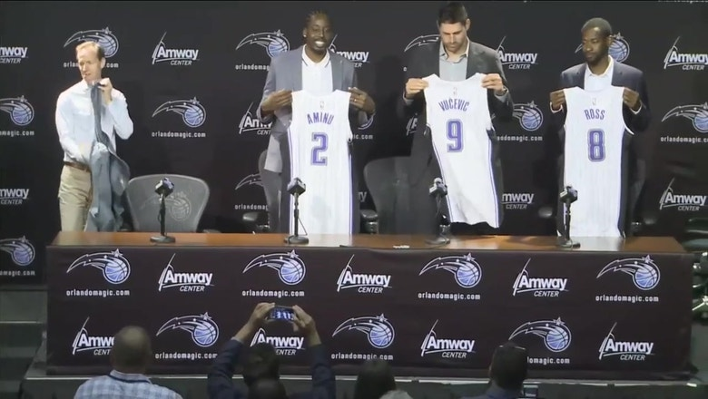 Magic hold 2019 Free Agency Press Conference