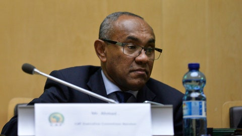 <p>               FILE  - In this Thursday, March 16, 2017 file photo, Newly appointed president of the African soccer confederation Ahmad of Madagascar, attends the general assembly of the Confederation of African Football (CAF) in Addis Ababa, Ethiopia. Sport's highest court will rule this month on how to resolve the chaotic African Champions League final. The Court of Arbitration for Sport says it set a July 31, 2019 deadline for a final decision after both clubs appealed to be awarded the title. The second-leg game between Wydad Casablanca of Morocco and Esperance of Tunisia on May 31 was annulled in a dispute provoked by a video review failure. The controversy is part of a wider crisis for CAF and its president, Ahmad of Madagascar, who has been accused of misconduct by senior administrators who were fired in recent weeks and have filed complaints to FIFA's ethics committee. (AP Photo, File)             </p>