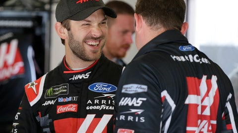<p>               Daniel Suarez, left, laughs with crew members in his garage during a NASCAR auto race practice at Daytona International Speedway, Thursday, July 4, 2019, in Daytona Beach, Fla. (AP Photo/Terry Renna)             </p>