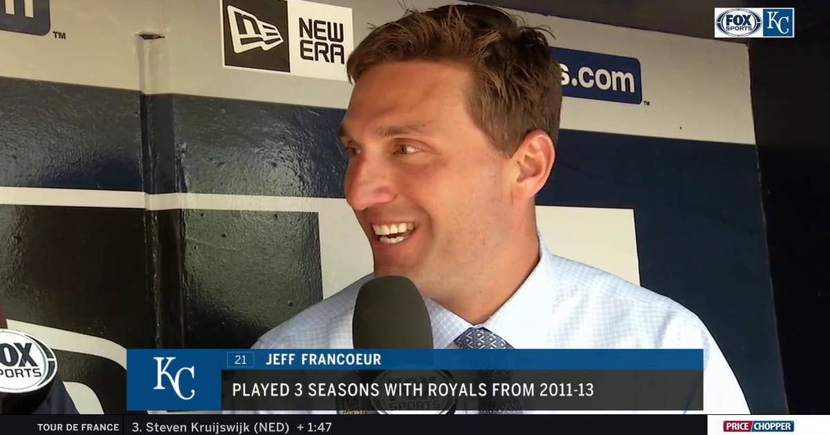 Jeff Francoeur reflects on his tenure with the Royals