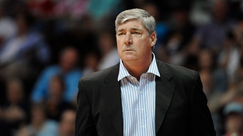 <p>               FILE - In this Aug. 29, 2015, file photo, New York Liberty head coach Bill Laimbeer during a WNBA basketball game in Uncasville, Conn. The WNBA is looking into dates to finish up the Washington and Las Vegas game that was suspended at the half Friday, July 5, 2019, because of the 7.1-magnitude earthquake in California. (AP Photo/Jessica Hill, File)             </p>