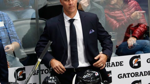 <p>               FILE - In this Thursday, Oct. 4, 2018 file photo, Colorado Avalanche coach Jared Bednar watches his team play the Minnesota Wild in the first period of an NHL hockey game in Denver. The Colorado Avalanche agreed to a two-year contract extension with coach Jared Bednar after guiding the team to back-to-back playoff appearances. His contract runs through the 2021-22 season, the team announced Tuesday, July 9, 2019. (AP Photo/David Zalubowski, File)             </p>