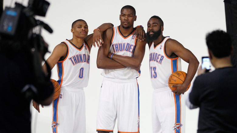 Oklahoma City Thunder's rebuild will take some time
