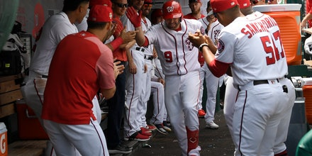 Nationals dance their way from rock bottom to playoff race