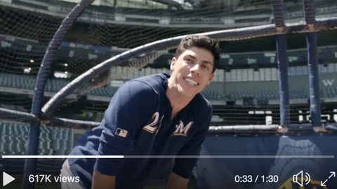 Christian Yelich, Brewers outfielder