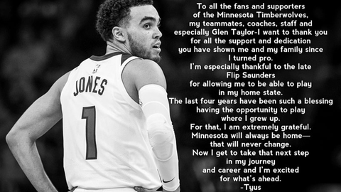 Tyus Jones, former Wolves guard