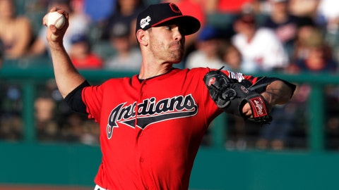 <p>               Cleveland Indians starting pitcher Shane Bieber delivers in the first inning of a baseball game against the Kansas City Royals, Tuesday, June 25, 2019, in Cleveland. (AP Photo/Tony Dejak)             </p>