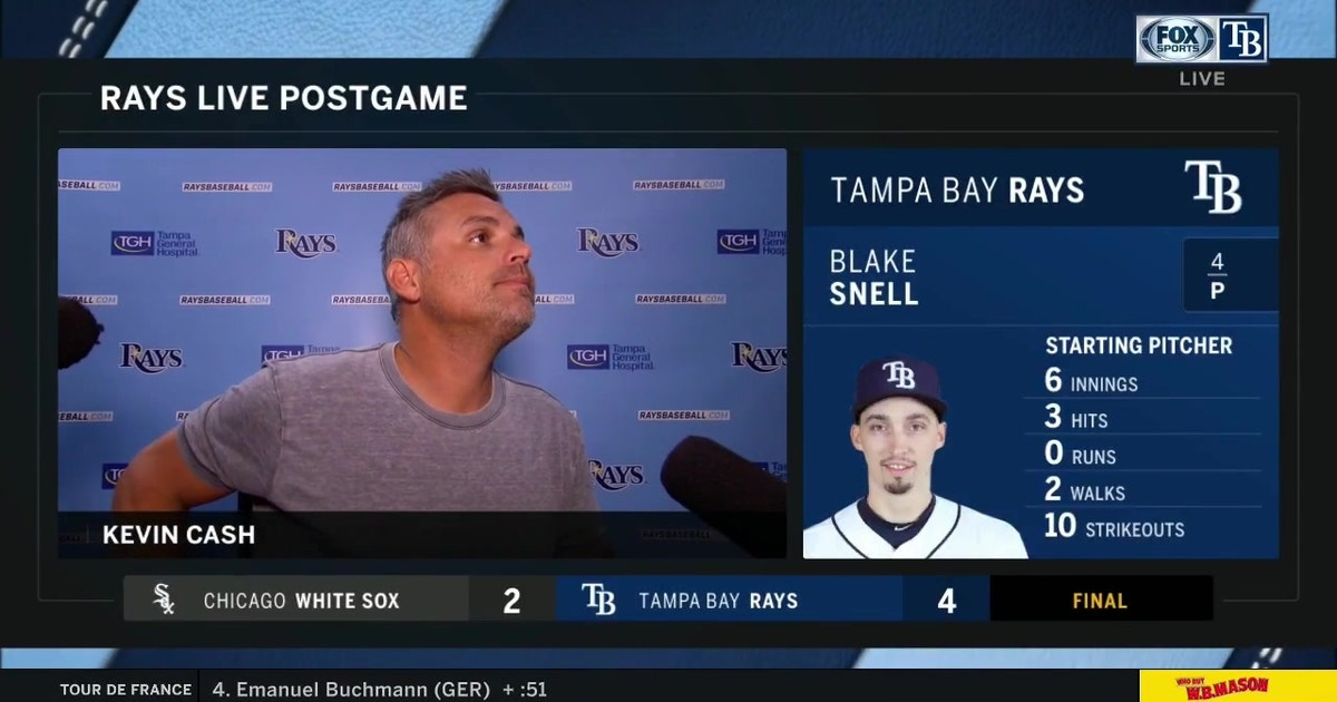 Kevin Cash talks Blake Snell, finally capitalizing on offense
