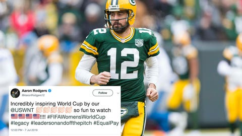 Aaron Rodgers, Packers quarterback