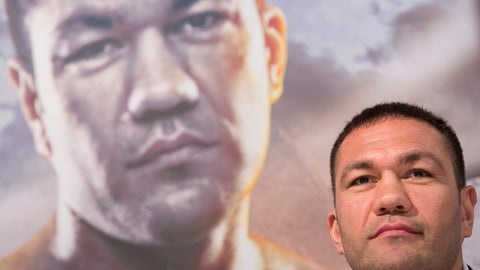 <p>               FILE - In this March 15, 2016, file photo, Bulgarian heavyweight boxer Kubrat Pulev attends a news conference in Hamburg, Germany. Officials on Monday, July 22, 2019, lifted the suspension of  Pulev who kissed a reporter without her consent during a post-fight interview after he completed a sexual harassment course and paid a $2,500 fine. The California State Athletic Commission voted unanimously to allow Pulev to reapply for his license with the caveat that future offenses would result in a lifetime ban from fighting in North America. (Christian Charisius/dpa via AP, File)             </p>