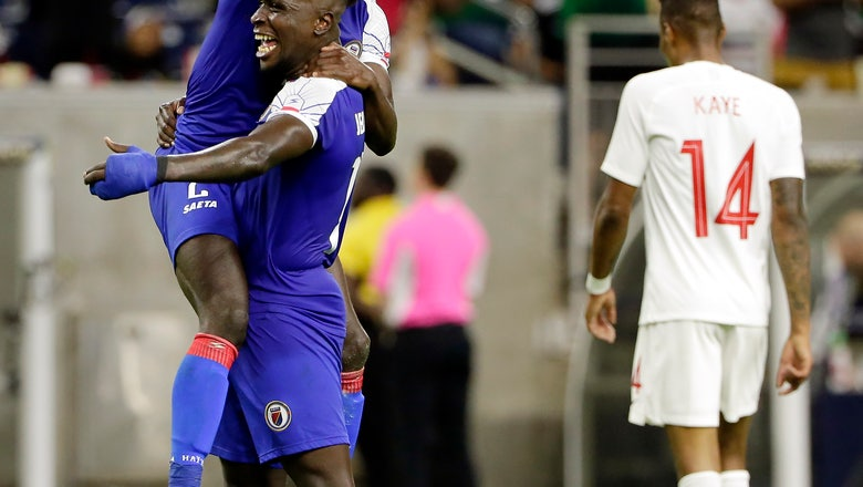 Haiti hoping to keep memorable Gold Cup going against Mexico