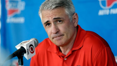 <p>               FILE - In this May 5, 2014, file photo, Ron Francis, at the time the general manager of the Carolina Hurricanes, takes questions from members of the media during a news conference in Raleigh, N.C. Seattle's NHL expansion team is close to an agreement with Francis to become its first general manager, a person with direct knowledge tells The Associated Press. The person spoke on condition of anonymity Tuesday, July 16, 2019, because the team had not made an announcement. The expansion Seattle franchise is set to begin play in the 2021-22 season as the NHL's 32nd team.(AP Photo/Gerry Broome, File)             </p>