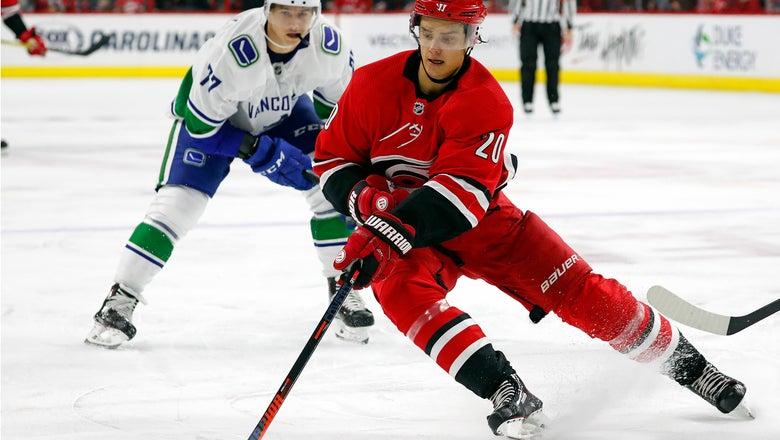 Hurricanes to match Montreal's offer sheet for Aho