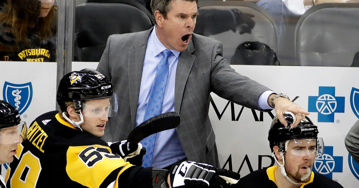 Penguins sign coach Mike Sullivan to 4-year extension | FOX Sports