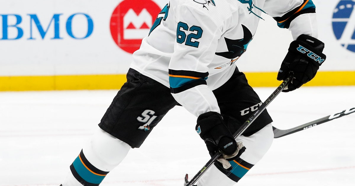 Sharks re-sign Kevin Labanc to 1-year, $1 million deal | FOX Sports