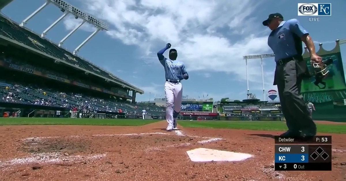 WATCH: Cuthbert, Soler go deep in Royals' five-run third inning