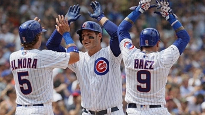 Anthony Rizzo launches grand slam in 6-5 win over Padres