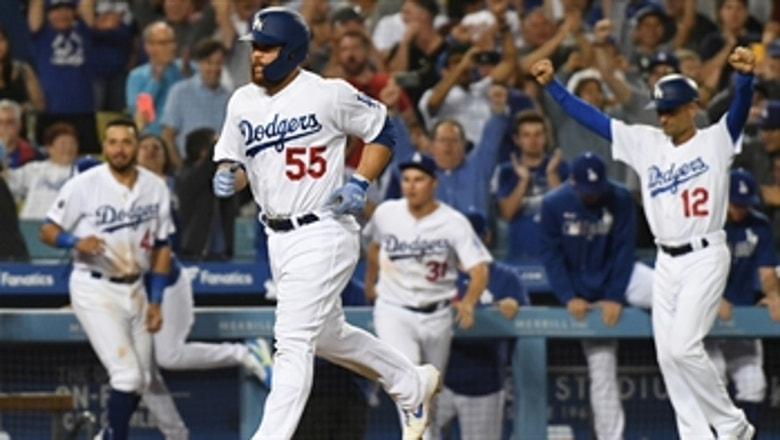 Dodgers win after Arizona walks 5 consecutive batters with 2 outs in the 9th
