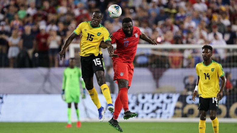 Tempers flare as Altidore, Flemmings are both given yellow cards   2019 CONCACAF Gold Cup Highlights