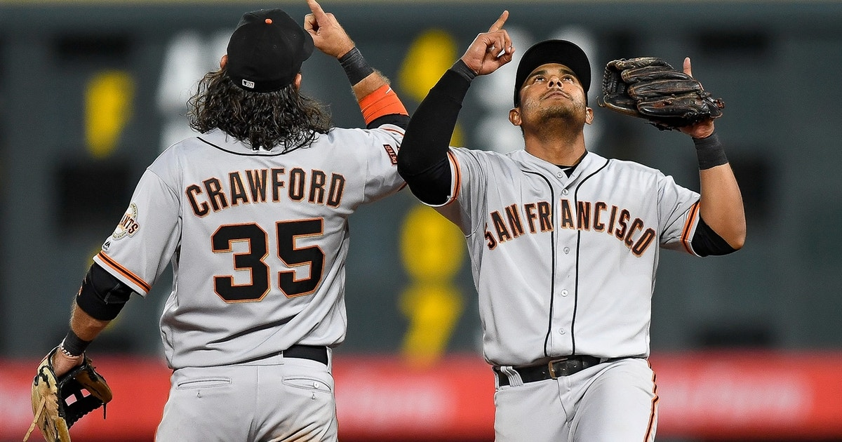 Giants four-run 10th inning gives team seventh win in last eight games