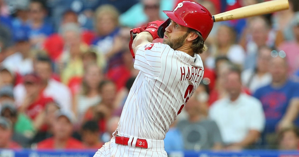 Bryce Harper walks off Dodgers to give Phillies wild 9-8 come-from-behind win