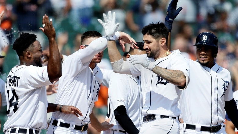 Amidst trade rumors, Castellanos smashes walk-off blast for Tigers