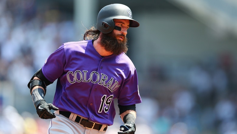 Blackmon homer on second pitch of game paces Rockies to just third win in last 16