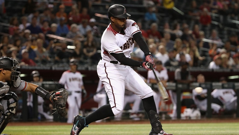 Adam Jones tallies three hits in first game vs. Orioles since signing with D'Backs