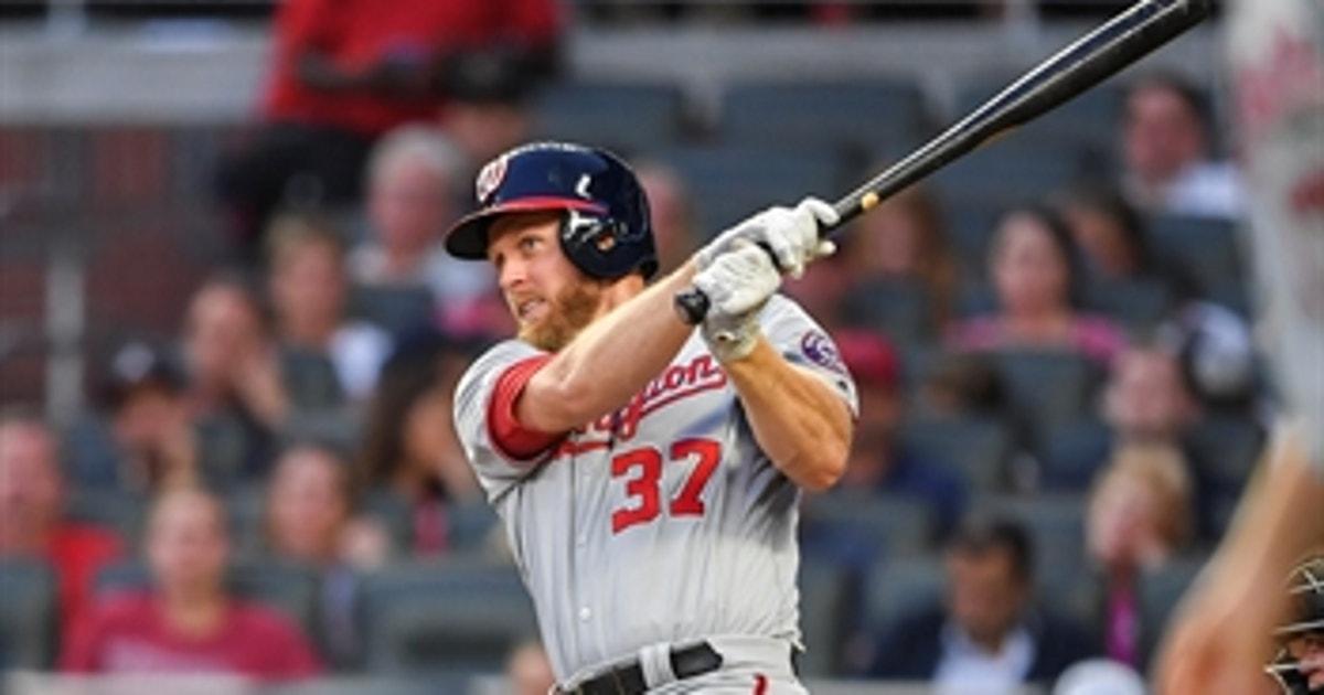 Stephen Strasburg drives in 5 runs with 2 singles and a 3-run home run