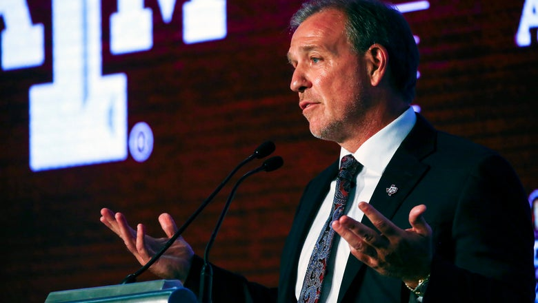 Texas A&M coach Jimbo Fisher embraces difficult schedule