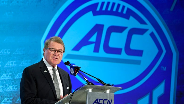 The Latest: Addazio says BC's next step is winning ACC title