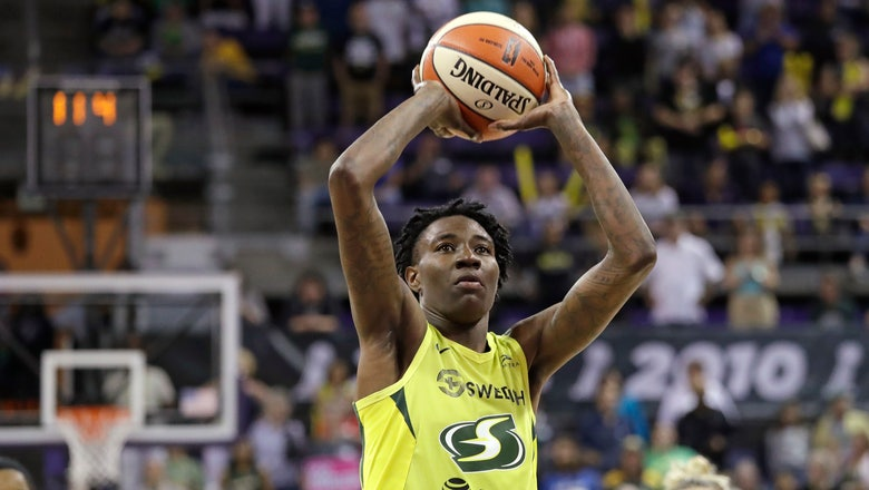 Howard has 21 points and 10 rebounds, Storm beat Aces