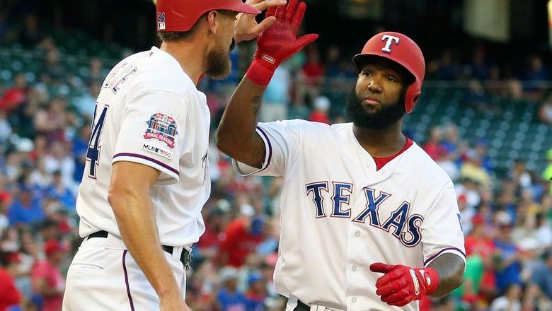 Santana hits 2 Home Runs, Rangers lose to Dbacks