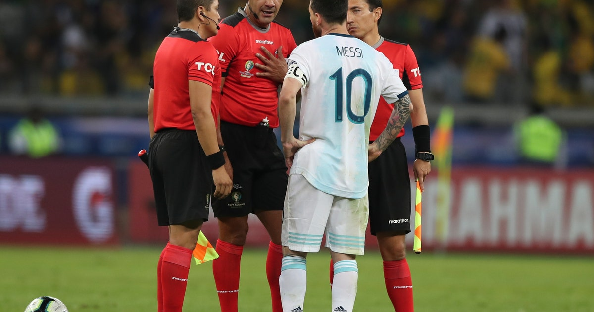 Copa América: Argentina files complaint against refereeing | FOX Sports