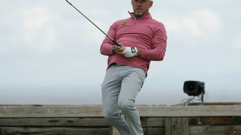 <p>               England's Lee Westwood reacts to his tee shot on the 6th during the second round of the British Open Golf Championships at Royal Portrush in Northern Ireland, Friday, July 19, 2019.(AP Photo/Matt Dunham)             </p>